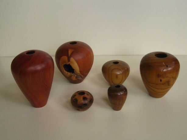 large wood turnings